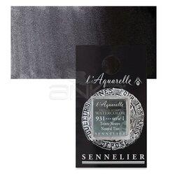 Sennelier - Sennelier Artist Tam Tablet Sulu Boya Yedek Seri 1 No:931 Neutral Tint