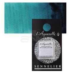 Sennelier - Sennelier Artist Tam Tablet Sulu Boya Yedek Seri 2 No:341 Phthalocyanine Turquoise