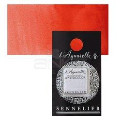 Sennelier - Sennelier Artist Tam Tablet Sulu Boya Yedek Seri 2 No:612 Scarlet Laquer