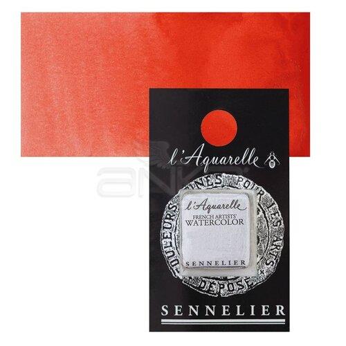 Sennelier Artist Tam Tablet Sulu Boya Yedek Seri 2 No:612 Scarlet Laquer - 612 Scarlet Laquer