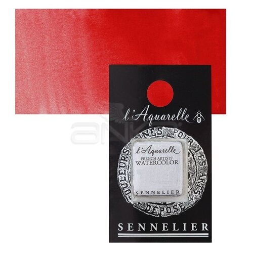 Sennelier Artist Tam Tablet Sulu Boya Yedek Seri 2 No:636 Sennelier Red - 636 Sennelier Red