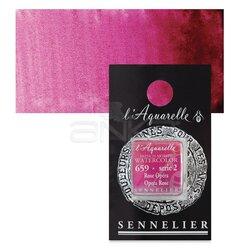 Sennelier - Sennelier Artist Tam Tablet Sulu Boya Yedek Seri 2 No:659 Opera Rose