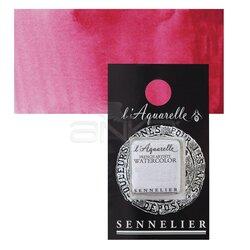 Sennelier - Sennelier Artist Tam Tablet Sulu Boya Yedek Seri 2 No:690 Rose Madder Lake