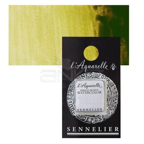 Sennelier Artist Tam Tablet Sulu Boya Yedek Seri 2 No:857 Brown Green - 857 Brown Green