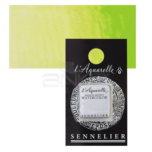 Sennelier Artist Tam Tablet Sulu Boya Yedek Seri 2 No:871 Bright Yellow Green - 871 Bright Yellow Green