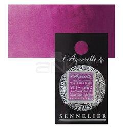 Sennelier - Sennelier Artist Tam Tablet Sulu Boya Yedek Seri 2 No:911 Cobalt Violet Light Hue