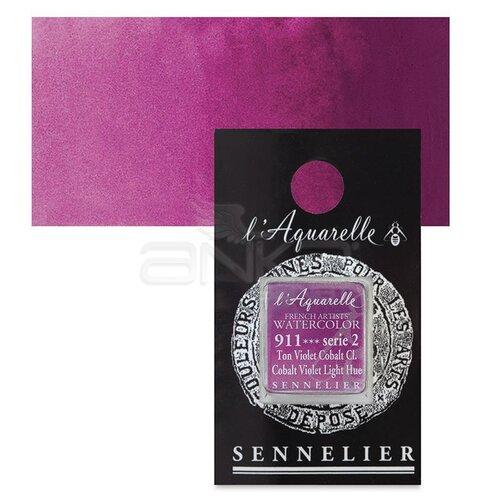 Sennelier Artist Tam Tablet Sulu Boya Yedek Seri 2 No:911 Cobalt Violet Light Hue - 911 Cobalt Violet Light Hue