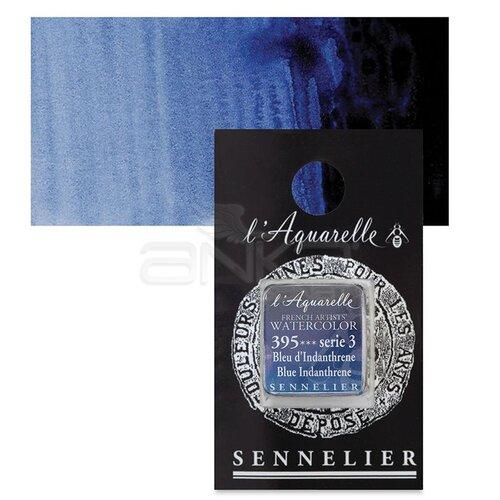 Sennelier Artist Tam Tablet Sulu Boya Yedek Seri 3 No:395 Blue Indanthrene - 395 Blue Indanthrene