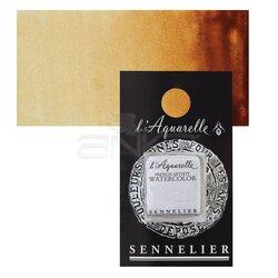 Sennelier - Sennelier Artist Tam Tablet Sulu Boya Yedek Seri 3 No:599 Quinacridone Gold