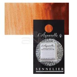 Sennelier - Sennelier Artist Tam Tablet Sulu Boya Yedek Seri 3 No:645 Chinese Orange