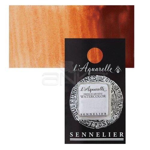 Sennelier Artist Tam Tablet Sulu Boya Yedek Seri 3 No:645 Chinese Orange - 645 Chinese Orange
