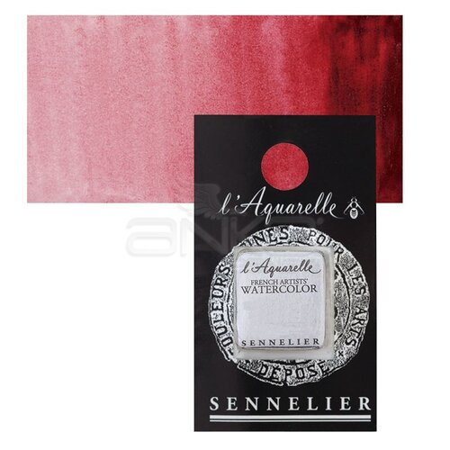 Sennelier Artist Tam Tablet Sulu Boya Yedek Seri 3 No:688 Crimson Lake - 688 Crimson Lake