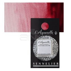 Sennelier - Sennelier Artist Tam Tablet Sulu Boya Yedek Seri 3 No:695 Aliz Crimson Lake