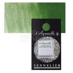 Sennelier - Sennelier Artist Tam Tablet Sulu Boya Yedek Seri 3 No:815 Cromium Oxide Green
