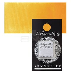 Sennelier - Sennelier Artist Tam Tablet Sulu Boya Yedek Seri 4 No:533 Cadmium Yellow Deep