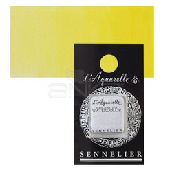 Sennelier - Sennelier Artist Tam Tablet Sulu Boya Yedek Seri 4 No:535 Cadmium Yellow Lemon