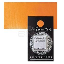 Sennelier - Sennelier Artist Tam Tablet Sulu Boya Yedek Seri 4 No:537 Cadmium Yellow Orange