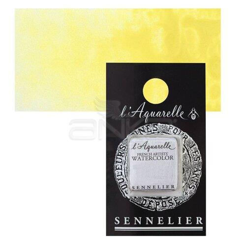 Sennelier Artist Tam Tablet Sulu Boya Yedek Seri 4 No:576 Nickel Yellow - 576 Nickel Yellow