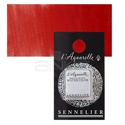 Sennelier - Sennelier Artist Tam Tablet Sulu Boya Yedek Seri 4 No:605 Cadmium Red Light