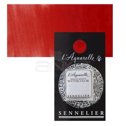 Sennelier Artist Tam Tablet Sulu Boya Yedek Seri 4 No:605 Cadmium Red Light - 605 Cadmium Red Light