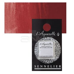 Sennelier - Sennelier Artist Tam Tablet Sulu Boya Yedek Seri 4 No:611 Cadmium Red Purple