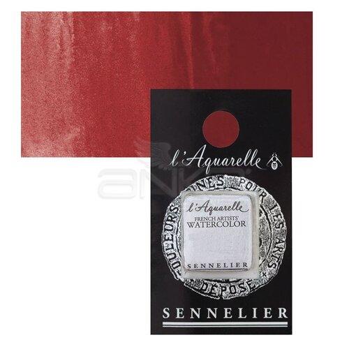 Sennelier Artist Tam Tablet Sulu Boya Yedek Seri 4 No:611 Cadmium Red Purple - 611 Cadmium Red Purple