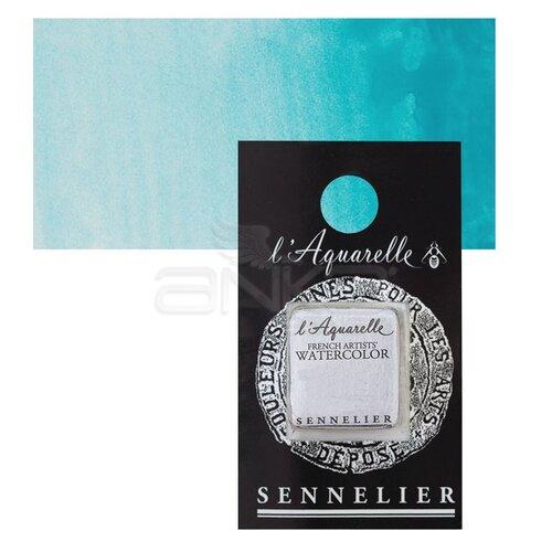 Sennelier Artist Tam Tablet Sulu Boya Yedek Seri 4 No:843 Turquoise Green - 843 Turquoise Green