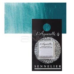 Sennelier - Sennelier Artist Tam Tablet Sulu Boya Yedek Seri 4 No:856 Cobalt Green