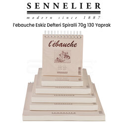 Sennelier LEbauche Eskiz Defteri Spiralli 70g 130 Yaprak - Thumbnail