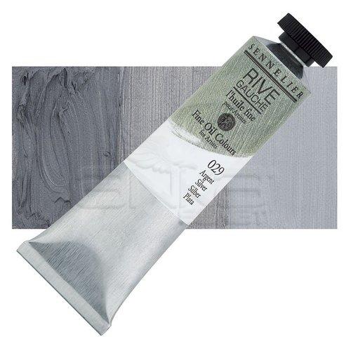Sennelier Rive Gauche Yağlı Boya 40ml 029 Silver