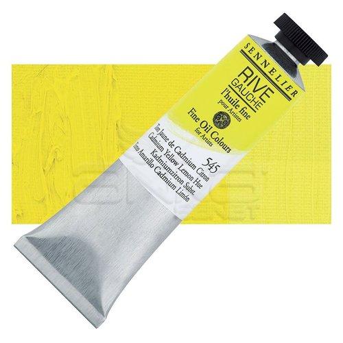 Sennelier Rive Gauche Yağlı Boya 40ml 545 Cadmium Yellow Lemon Hue