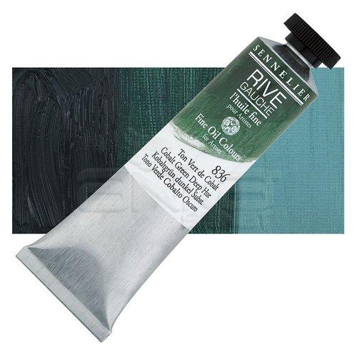 Sennelier Rive Gauche Yağlı Boya 40ml 836 Cobalt Green Deep Hue
