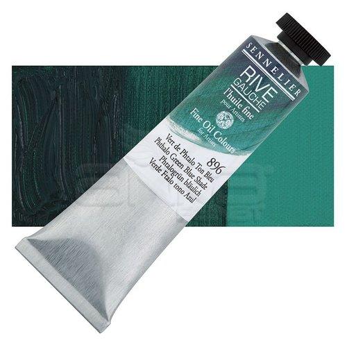 Sennelier Rive Gauche Yağlı Boya 40ml 896 Phthalo Green Blue Shade