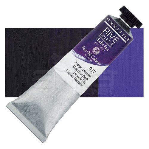 Sennelier Rive Gauche Yağlı Boya 40ml 917 Dioxazine Purple