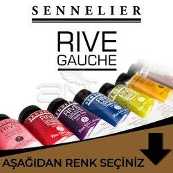Sennelier - Sennelier Rive Gauche Yağlı Boya 40ml Kahve Tonlar