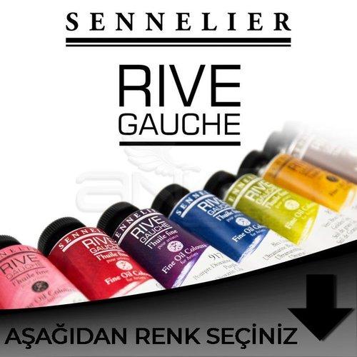 Sennelier Rive Gauche Yağlı Boya 40ml Siyah Tonlar