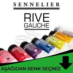 Sennelier - Sennelier Rive Gauche Yağlı Boya 40ml Yeşil Tonlar