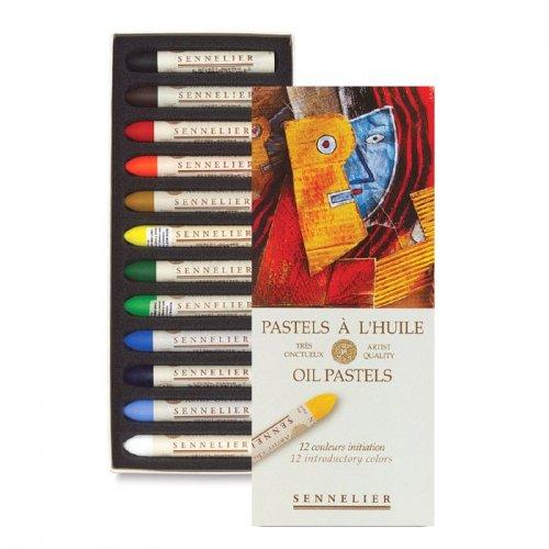 Sennelier Yağlı Pastel 12li İnitiation Set