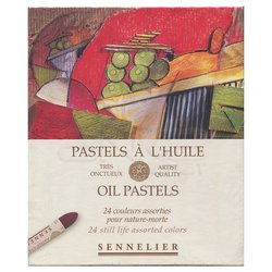 Sennelier - Sennelier Yağlı Pastel 24lü Nature Morte Set (1)