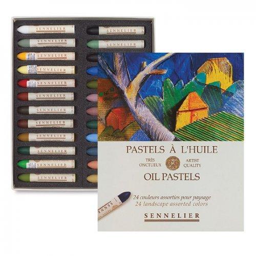 Sennelier Yağlı Pastel 24lü Peysage Set