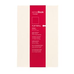Sensebook - Transotype Sensebook Flap Refill Medium 14x21cm