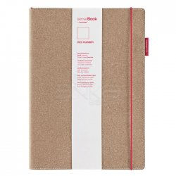 Sensebook - Transotype Sensebook Red Rubber Defter 135 Yaprak A4 (1)