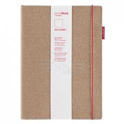 Sensebook - Transotype Sensebook Red Rubber Defter 135 Yaprak A5 (1)