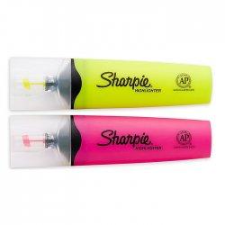 Sharpie - Sharpie Clear View Fosforlu İşaretleme Kalemi 2li (1)