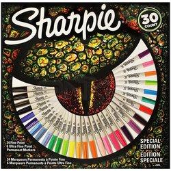 Sharpie - Sharpie Fine Permanent Marker 30lu Kertenkele 2061335