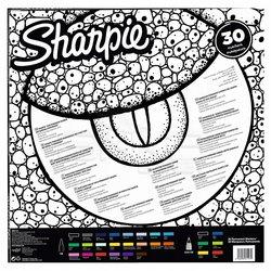 Sharpie - Sharpie Fine Permanent Marker 30lu Kertenkele 2061335 (1)