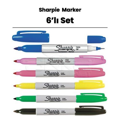 Sharpie Fine Point Marker 6lı Set