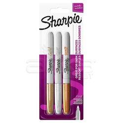 Sharpie - Sharpie Metalik Marker Karışık 3lü Set