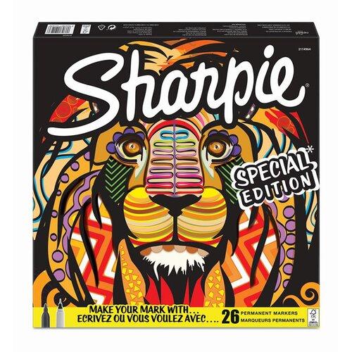 Sharpie Permanent Marker Karışık Kutu Aslan 26lı 2110123
