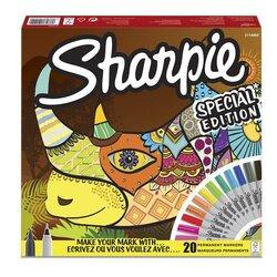 Sharpie Permanent Marker Karışık Kutu Gergedan 20li 2110122 - Thumbnail